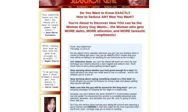 Seduce Men – Let The Seduction Genie Teach You How to Seduce a Man!