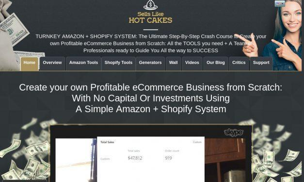 Sells Like Hot Cakes: Amazon FBA + Shopify Mastery