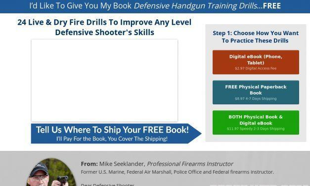 Claim Your 24 FREE Defensive Handgun Drills!