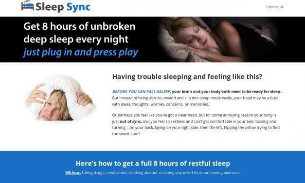Get To Sleep Faster and Stay Asleep All Night – Sleep Sync