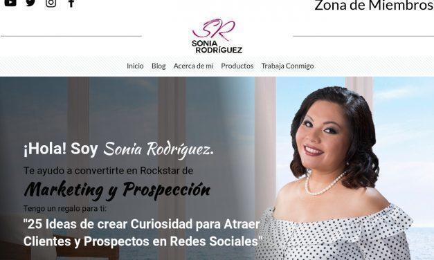 Sonia Rodríguez – Rockstars en Marketing y Prospección para Networkers