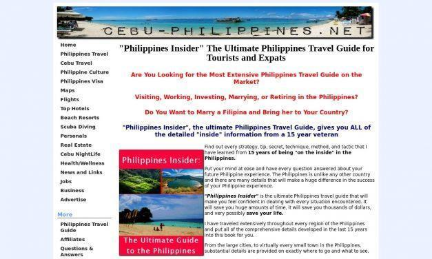 "Philippines Travel Guide – ""Philippines Insider"" the Ultimate Guide"