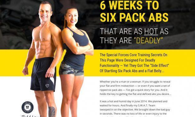 "SpecForce Abs – 6 WEEKS TO SIX PACK ABS THAT ARE AS HOT AS THEY ARE ""DEADLY"""