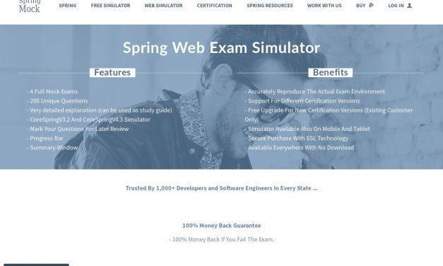 Spring Certification Full Simulator by Spring Mock Exams