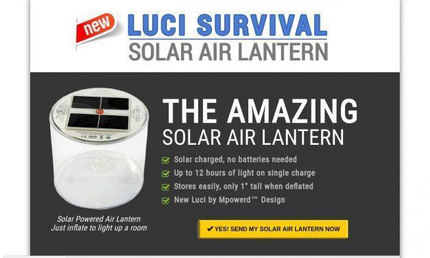 Survival Frog: Solar Air Lantern