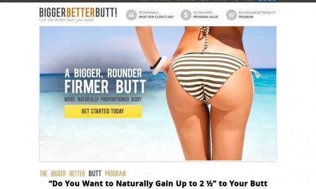 The Bigger Butt Workout Program – How to Get Bigger Butts & Natural Bigger butts