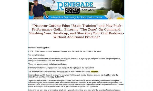 Golf Mental, Golf Psychology, Best Golf Training Aid