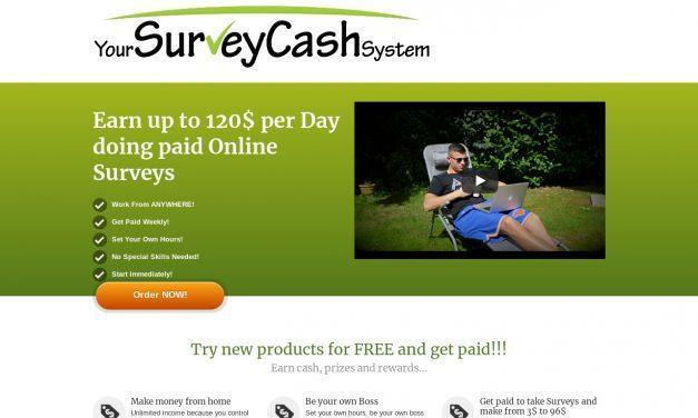 Your Survey Cash System – Your Survey Cash System