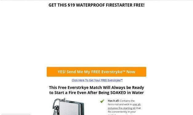 FREE Everstryke™ Waterproof Lighter