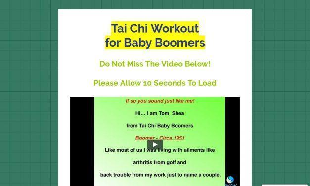 Tai Chi Baby Boomers Wo…