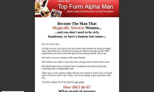 Top Form Alpha Man