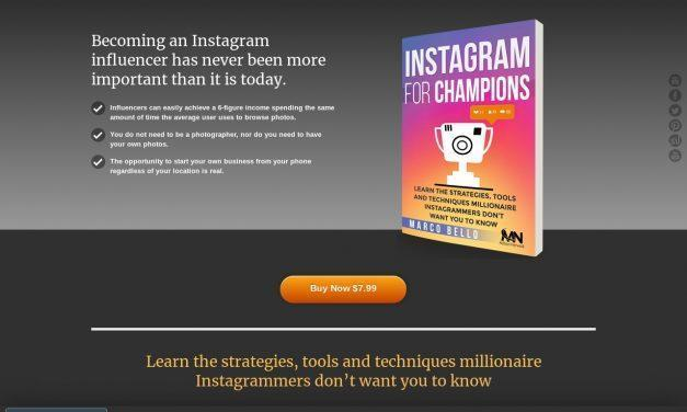 Instagram For Champions | Learn the strategies, tools and techniques to grow your Instagram account