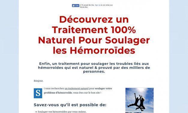 Traitement contre les Hémorroïdes Naturel
