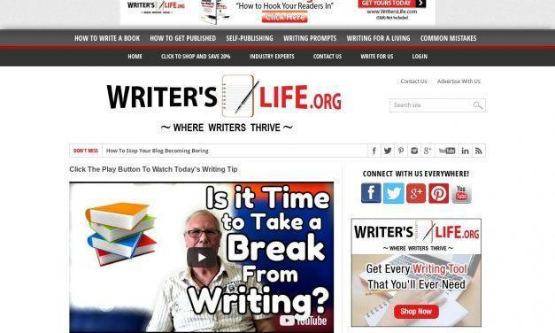 Writer's Life.org – Where Writers Thrive