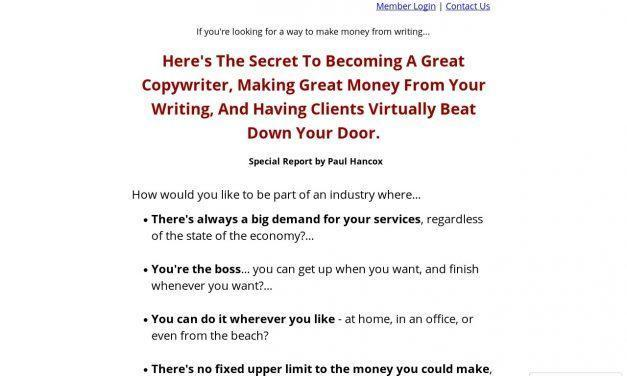 Ultimate Copywriting – Learn To Write Copy With Coaching and Feedback