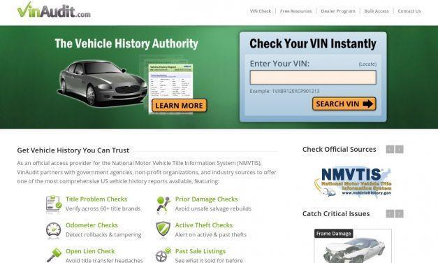VinAudit.com – Official Site | VIN Check | Vehicle History Report