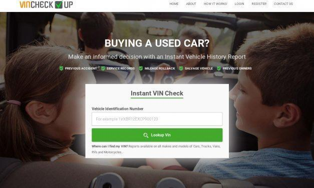 Free VIN Check, Full Vehicle History Report | VINCHECKUP.com