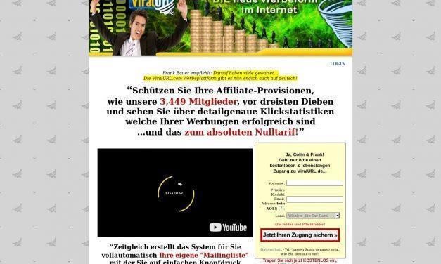 Die neue Werbeform im Internet… ViralURL.de