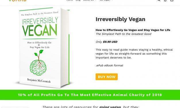 Irreversibly Vegan – How to Effortlessly Go & Stay Vegan for Life (eBo – VomadLife.com