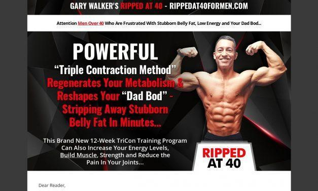 Ripped At 40 For Men