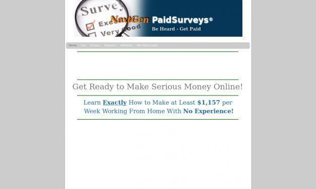 Welcome | NextGen PaidSurveys®