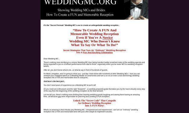 Wedding Emcee | Wedding MC | MC A Wedding | How To Be A Wedding MC
