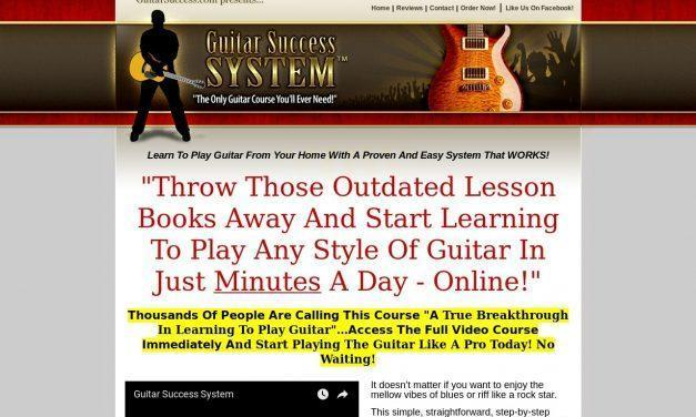 Guitar Success System – The Only Guitar Course You'll Ever Need!