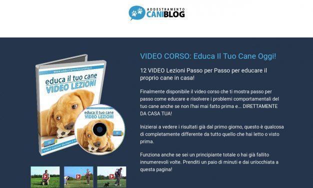 EducaIlTuoCane.net – Videolezioni Addestramento Cani