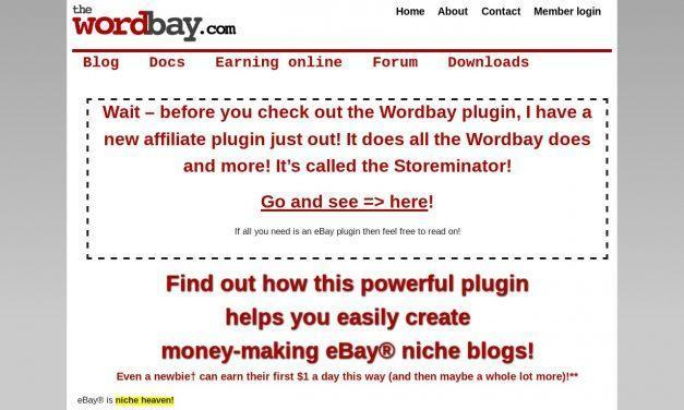 The Wordbay WordPress eBay Plugin | The Word Bay