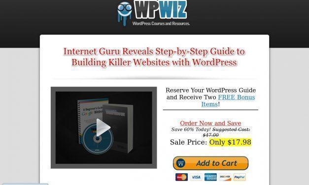 Build Websites Like a WordPress Wiz eBook – WPWiz.biz