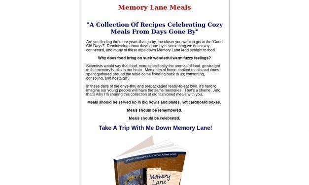 Memory Lane Meals