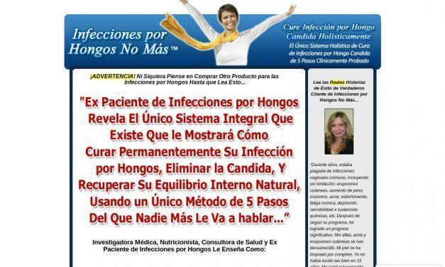 Infecciones por Hongos No Más™ – Cura Infección por Hongo Candida Holísticamente